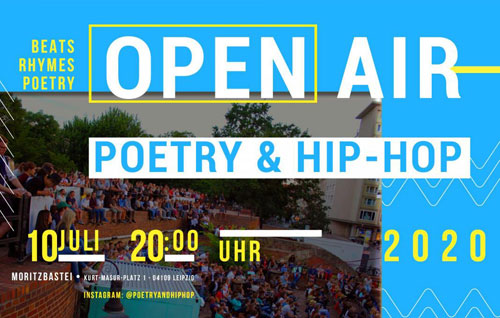 Veranstaltung in/um Leipzig: Poetry and Hip-Hop Open Air
