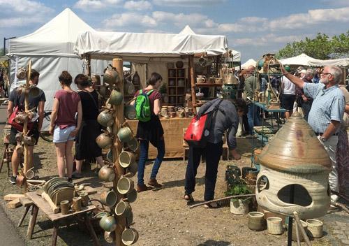 Impressionen vom Handwerker- und Töpfermarkt, Foto: Peggy Nothnagel