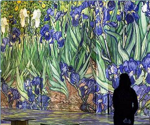 »Van Gogh« - Van Goghs Farb- und Bilderwelten digital erleben, Foto: Kusntkraftwerk Leipzig