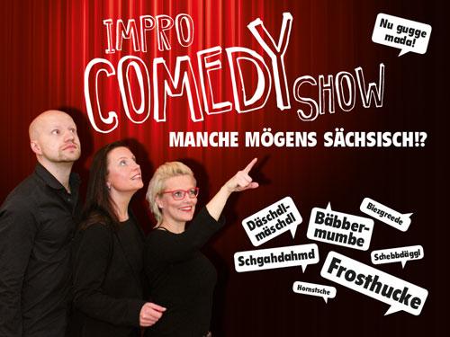 Manche mögens Sächsisch: Impro-Comedy-Show, Foto: Andreas Richter