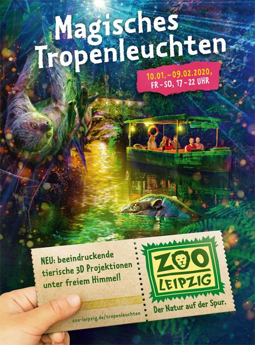 Magisches Tropenleuchten, © Zoo Leipzig