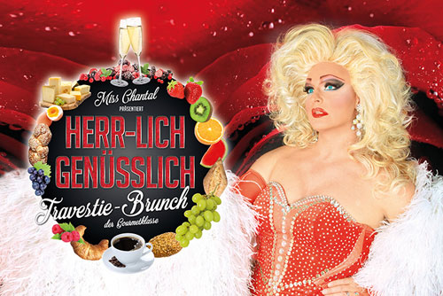 Travestie-Brunch mit Miss Chantal, Foto: Gordon Gatz