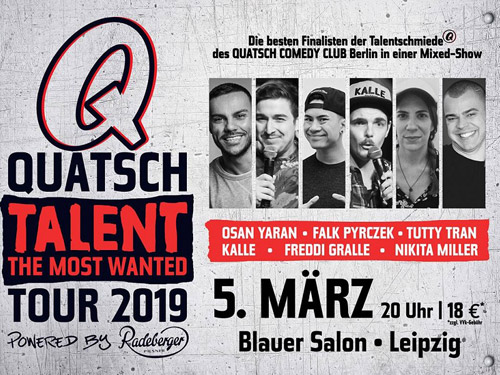 Quatsch Talent - The most wanted, © Serious Fun GmbH