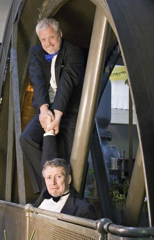 Michael Ranz & Edgar May, Fotoquelle: Leipziger Funzel