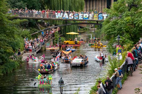 Leipziger Wasserfest, Foto: Lutz Zimmermann