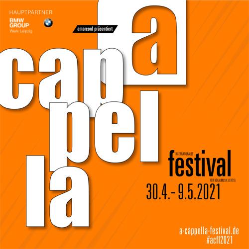 Internationales Festival für Vokalmusik »a cappella« Leipzig 2021