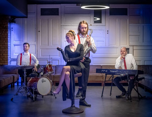 Veranstaltung in/um Leipzig: Jazz-Brunch - Jasmin and the Jazzmen